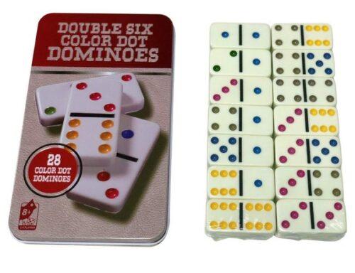 Extrokids Fun Play Plastic Domino Game Set with Multi Colour Set - EKR0055