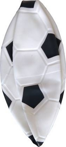 Extrokids Pre Schoolers FootBall Sports Toy for Kids, 9 inch Football Multi Colour - EKR0056