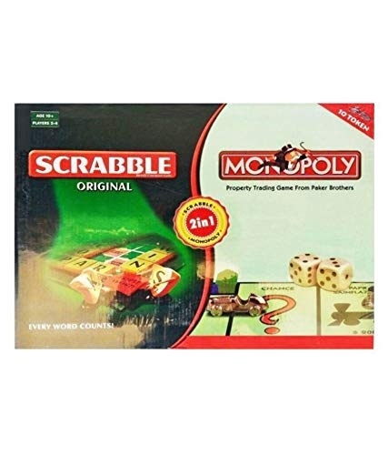 Extrokids Montessori Learning and Family Games Portable Scrabble Box - EKR0064