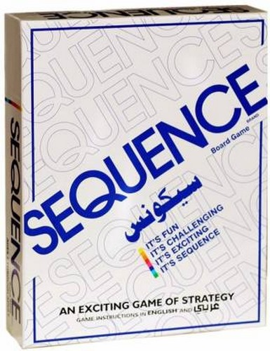 Extrokids Family Games Sequence Box Edition - EKR0068