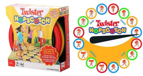 Extrokids Family Games Rings Twister Hopscotch Indoor & Out Door Game Set - EKR0069