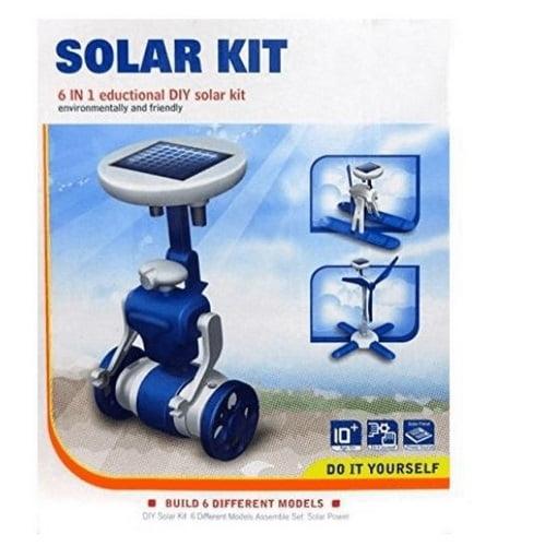 Extrokids Educational Science Experimental 6 in 1 Solar Kit - EKR0073
