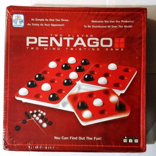 Extrokids Two Players Mind Twisting Pentago Game - EKR0076