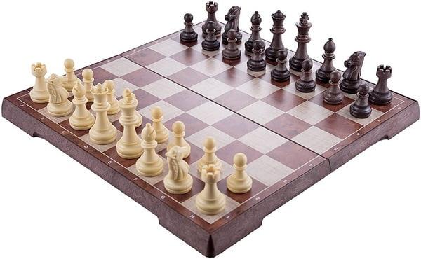 Extrokids Wooden Magnetic Chess Board. - EKR0097