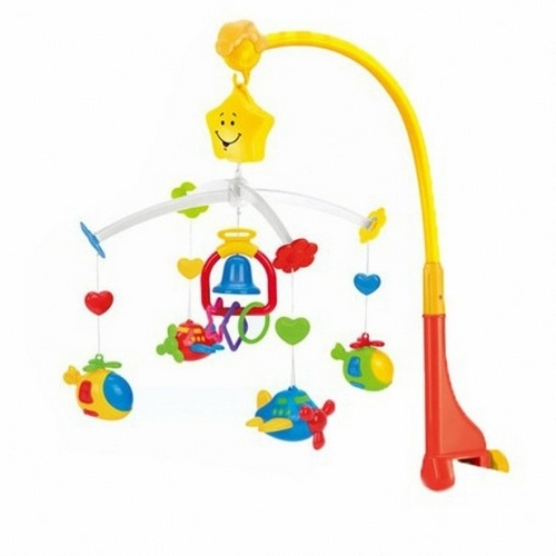 Extrokids New Born and Infant Baby Musical Mobile Toy - EKR0100