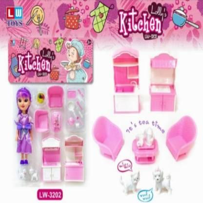 Extrokids Kitchen Set (Multicolor) - EKR0119