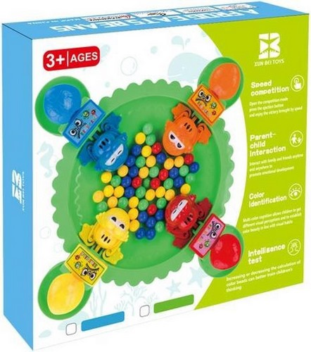 Extrokids Toddlers Fun Hungry Frog Game - EKR0178