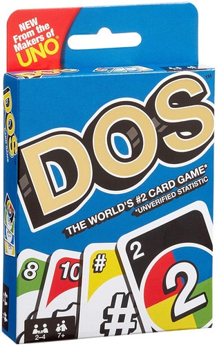 Extrokids Family Games and Fun with UNO Dos Cards - EKR0191