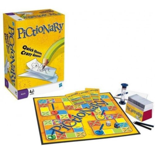 Extrokids The Pictionary  Game of Quick Sketches and Crazy Guesses for Family - EKR0194