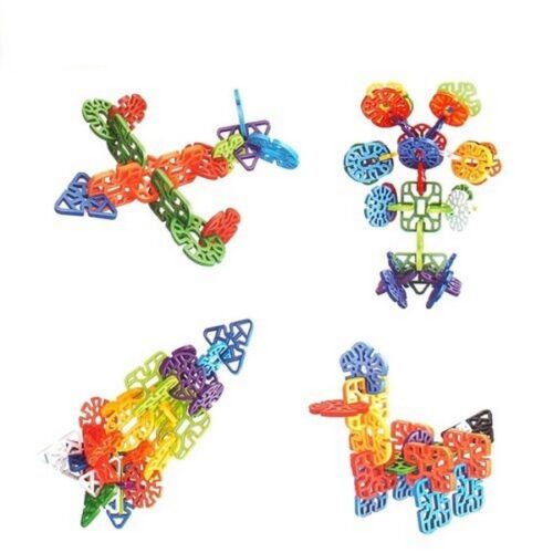 Extrokids Building Blocks for Kids Education Snowflakes Blocks Learning Puzzle Toys for Kids - EKR0205