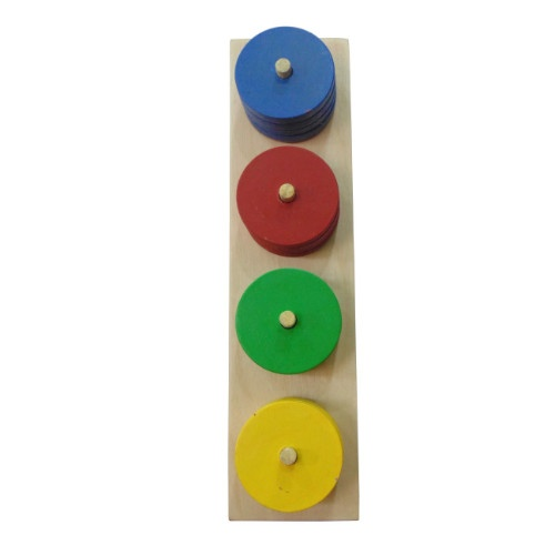 Extrokids Wooden Colour Sorter - EKW0030