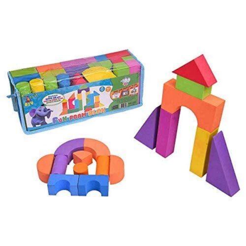 Extrokids Fun Foam and Educational Building Blocks - EKR0243