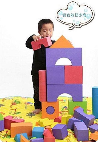 Extrokids Fun Foam and Educational Building Blocks - EKR0244