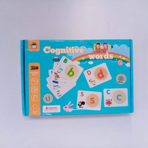 Extrokids Early learning cognitive words toy - EKT1859
