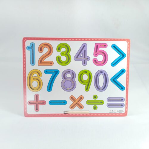 Extrokids Wooden Numbers Tracing Board For Kids - EKT1885