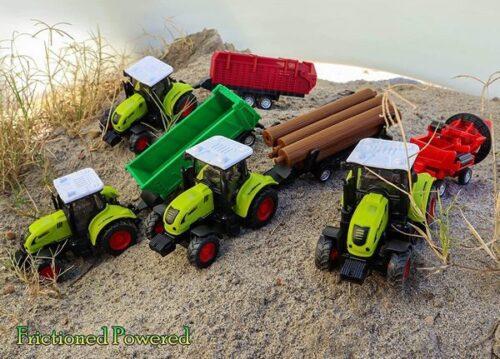 Extrokids Farm Truck Toy Car Friction Powered - EKR0233