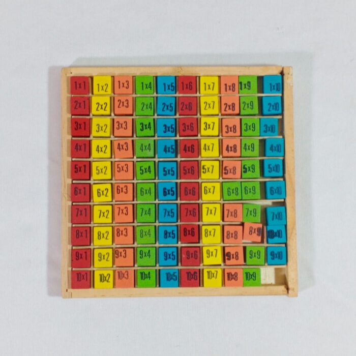 Extrokids Wooden Learning  Multiplication Board -  EKSD0071